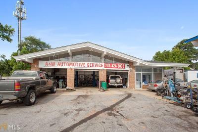 Marietta Commercial For Sale: 1714 South Cobb Dr