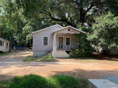Haddock, Milledgeville, Sparta Single Family Home For Sale: 110 Park Ave #110 &