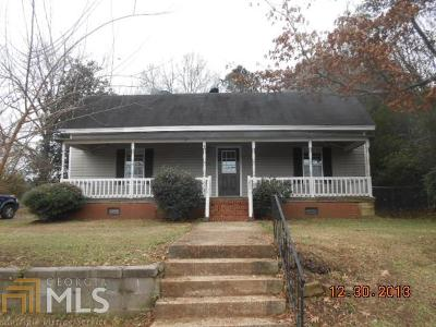 Jasper County Single Family Home New: 1064 Eatonton St