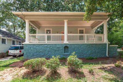 Atlanta Single Family Home New: 646 SW Brookline St