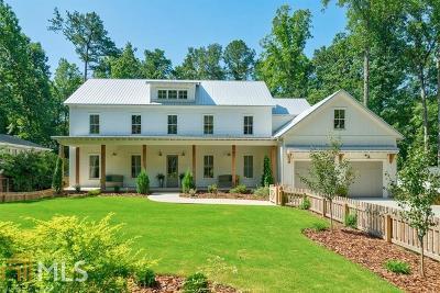 Alpharetta Single Family Home For Sale: 230 Pebble Trl