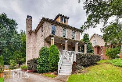 Atlanta Single Family Home New: 1318 Skyhaven Rd