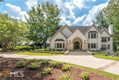 Fulton County, Cherokee County, Forsyth County, Bartow County, Gordon County, Coweta County, Fayette County, Rockdale County, Walton County, Newton County, Hall County, Gwinnett County, Floyd County, Polk County, Paulding County, Cobb County, Pickens County, Fannin County, Gilmer County Single Family Home For Sale: 14770 Glencreek Way