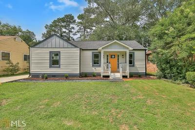 College Park Single Family Home New: 1727 Hardin Ave