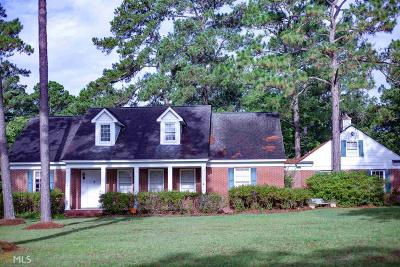 Statesboro Single Family Home For Sale: 1865 Lakeview Rd