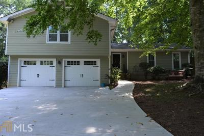 Roswell Single Family Home Under Contract: 1215 Martin Ridge Rd