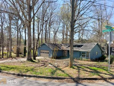 Rex Single Family Home Under Contract: 7041 Babbling Brook Dr