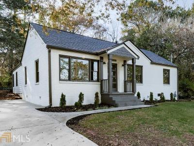 Atlanta Single Family Home New: 2638 Patrick Ct