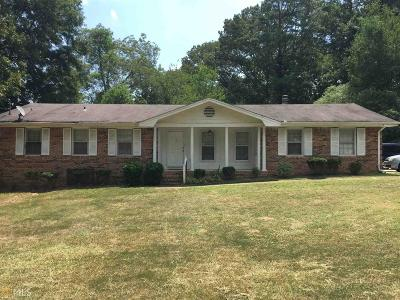 Stone Mountain Single Family Home New: 5498 Five Forks Trickum Rd