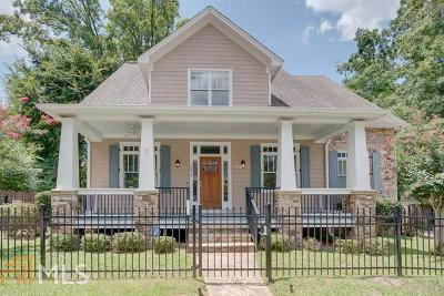 College Park Single Family Home New: 3273 Madison St