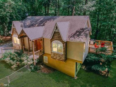 Rabun County Single Family Home New: 8 Sims Way