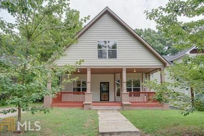 East Point Single Family Home New: 1371 Clermont Ave