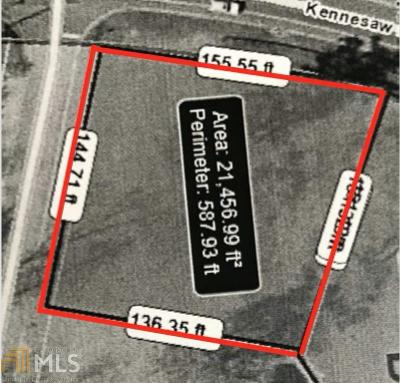 Cobb County Residential Lots & Land New: 1760 Kennesaw Due West #1