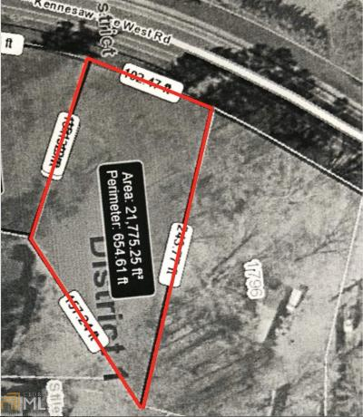 Cobb County Residential Lots & Land New: 1770 Kennesaw Due West #2