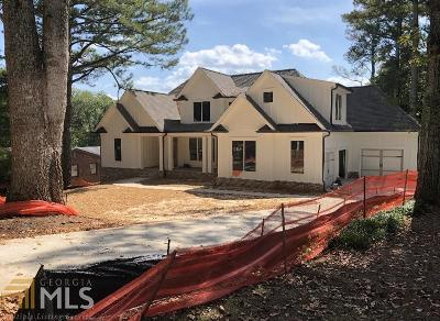 Roswell Single Family Home New: 236 Thomas Cir