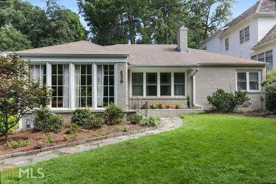 Piedmont Heights Single Family Home New: 438 Rock Springs Rd