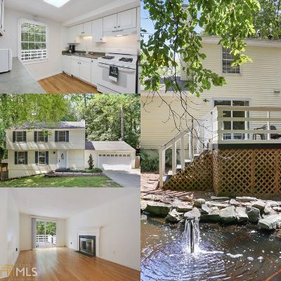 Roswell Single Family Home For Sale: 145 N Pond Way