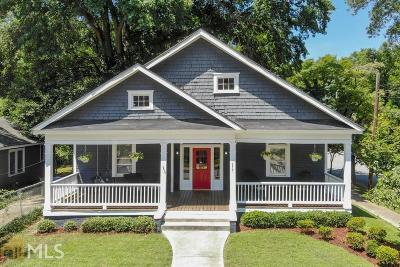Atlanta Single Family Home New: 977 Allene Ave