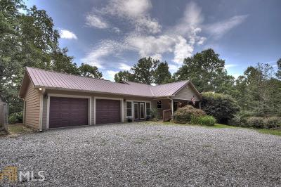 Gilmer County Single Family Home New: 444 Pleasant Oak Trl