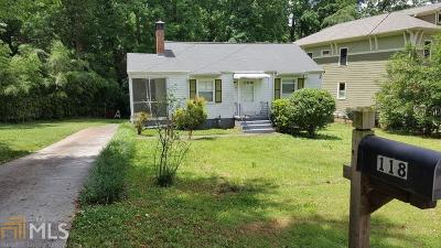 Decatur Rental New: 118 Ridgeland Ave