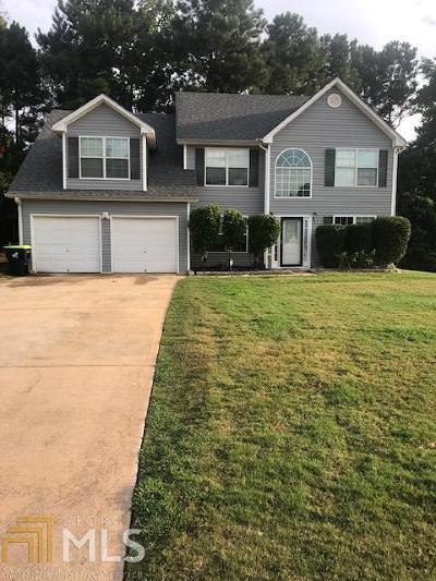 Clayton County Single Family Home New: 2987 Blackbird Way #19