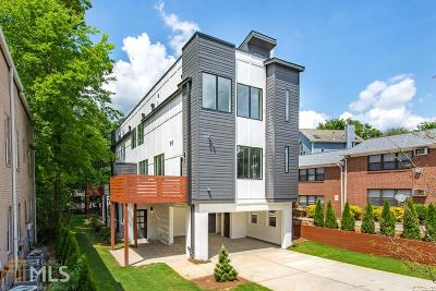 Virginia Highland Condo/Townhouse New: 1010 Greenwood Ave #A