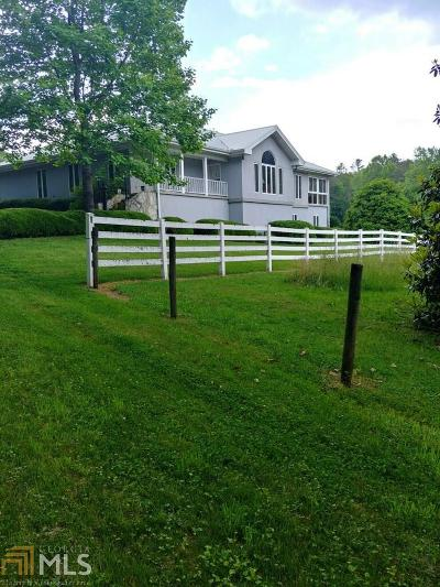 Rabun County Single Family Home New: 1311 John Beck Dockins Rd