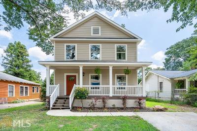 Grant Park Single Family Home New: 1040 Hill St