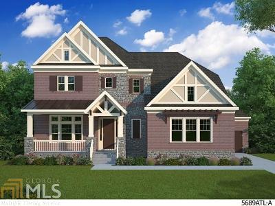 Suwanee Single Family Home New: 6740 Mount Holly Way