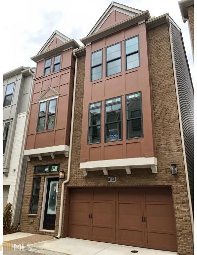 Atlanta Single Family Home New: 507 Broadview Pl