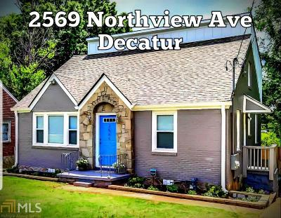 Decatur Single Family Home New: 2569 Northview Ave
