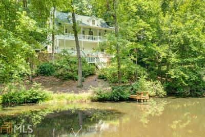 Gwinnett County Single Family Home New: 443 Lakeshore Dr
