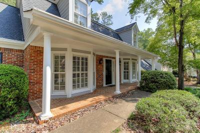 Marietta Single Family Home Under Contract: 1057 Princeton Walk