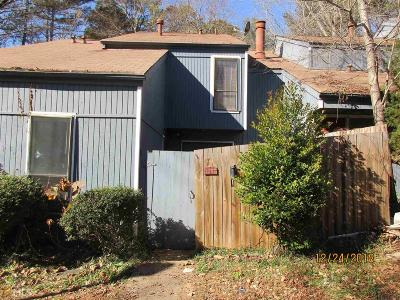 Stone Mountain GA Condo/Townhouse New: $72,000