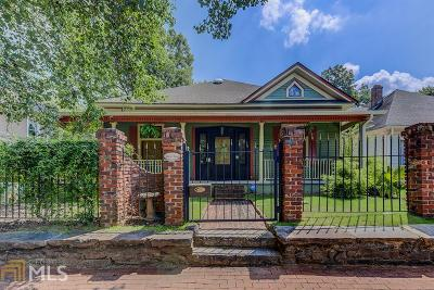 Atlanta Single Family Home New: 662 Peeples St