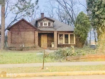Fulton County Single Family Home New: 1382 SE Lakewood Ave