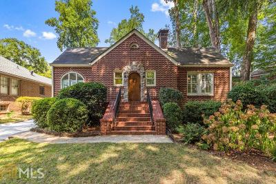 Druid Hills Single Family Home New: 451 Burlington Rd