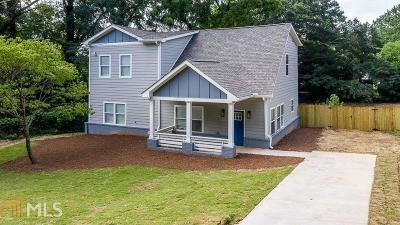 Atlanta Single Family Home New: 1155 Vickers St