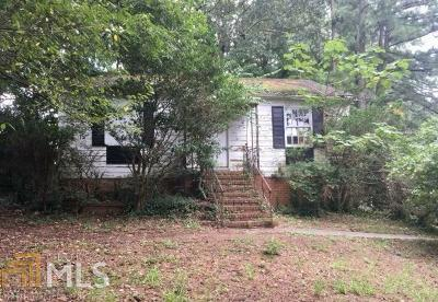 Fulton County Single Family Home New: 2053 Perkerson Rd