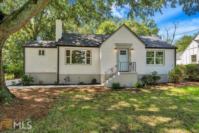 Dekalb County Single Family Home New: 1661 Glenwood Ave