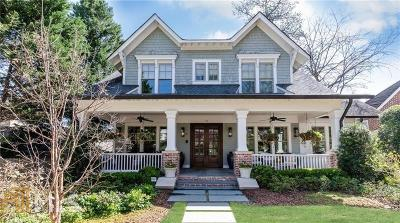 Atlanta Single Family Home New: 75 Montgomery Ferry Dr