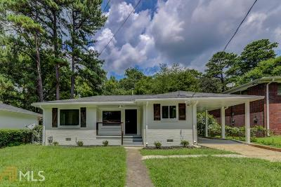 Atlanta Single Family Home New: 2886 Salmon Ave