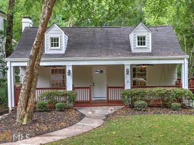 Atlanta Single Family Home New: 654 NE Courtenay