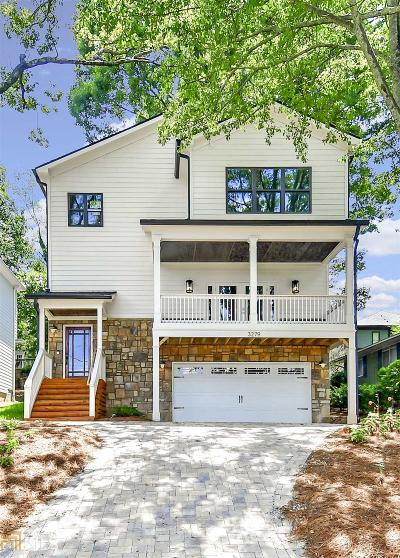 Atlanta Single Family Home New: 3279 Cates Ave