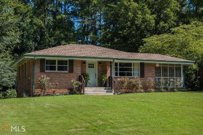 Smyrna Single Family Home New: 851 Lake Ct