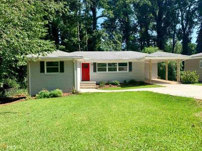 Decatur Single Family Home New: 3520 Glensford Dr