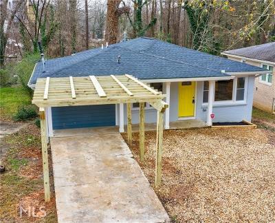 Atlanta Single Family Home New: 713 Church St