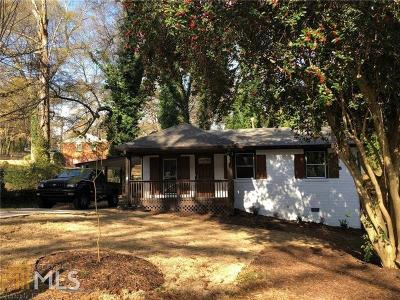 Atlanta Single Family Home New: 1851 Giben Road