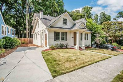 Buckhead Single Family Home New: 762 Martina Dr