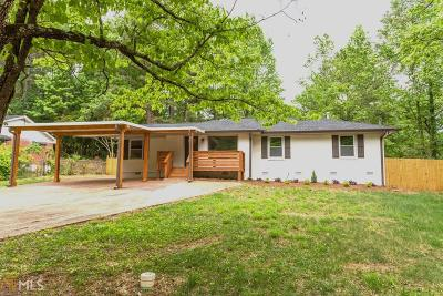 Decatur Single Family Home New: 3522 Tulip Dr